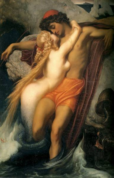 The Fisherman and the Syren c1856 8 663x487cm